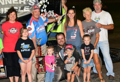 Christmas in July Heats up at I-35 Speedway with Great Racing Action