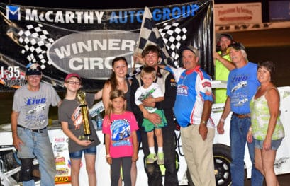 Kaster Celebration Night at I-35 Speedway 7/22/2017 with Great Racing Action