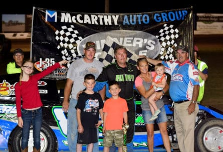 Seeburg Muffler Night at I-35 Speedway Winston, MO Filled with Great Racing Action